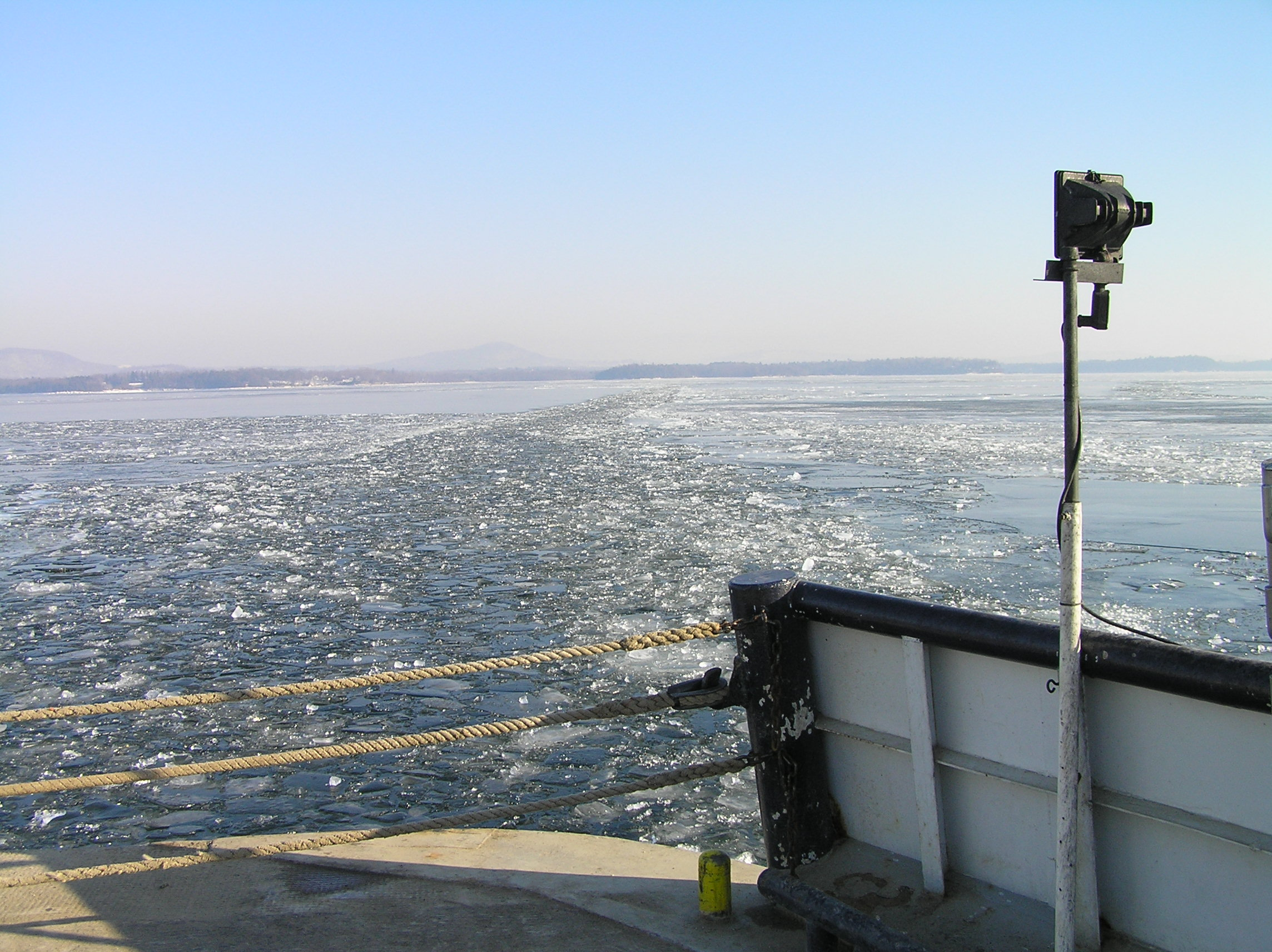 Lake Champlain, which was included in this study, has experienced long-term increasing chloride concentrations. Photo by T444vt